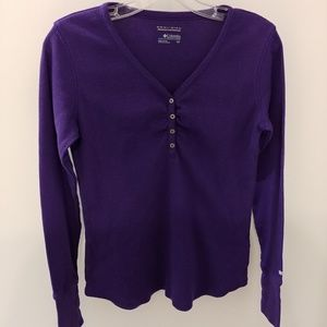 NWOT Columbia Thermal Long Sleeve Shirt Size Small